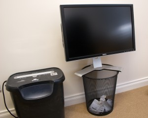 Dell in the Bin