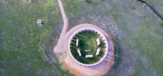 Stone Henge from above